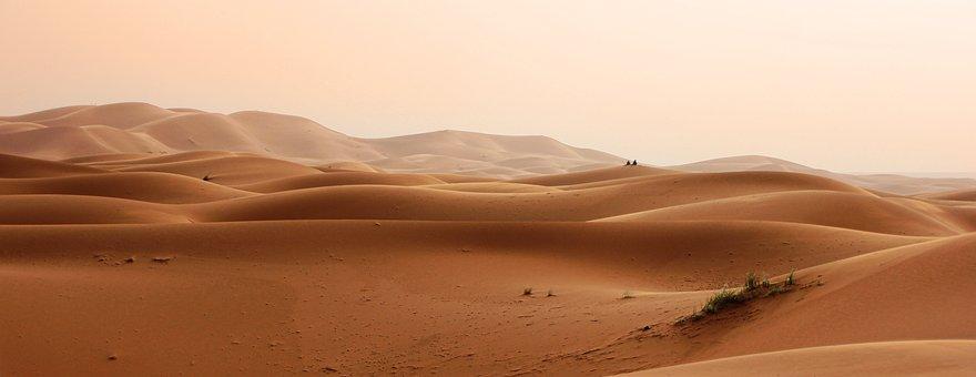 Desert, Morocco, Dunes, Sand, Landscape, Sand Dune