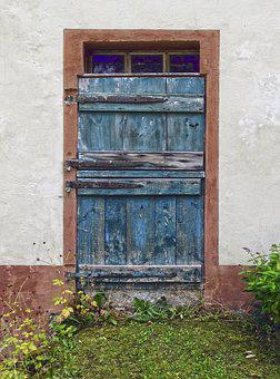 Door, Old Door, Stable-door, Input, Old, Break Up