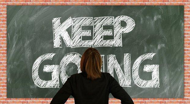 Board, School, Self Confidence, Continue, Discourage