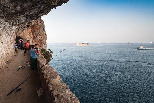 Bejaia, Mediterranean, Algeria, Booked, Coast, Sky
