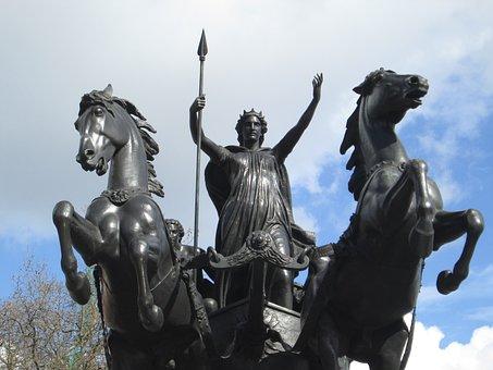 Statue, London, England, Europe, Architecture, Landmark