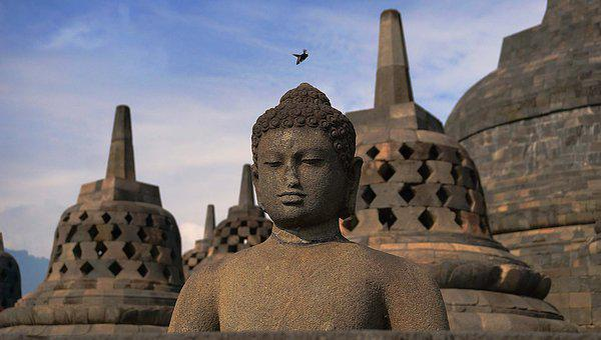 Temple, Buddha, Buddhism, Statue, Ancient, Asia