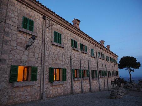 Monastery, Building, Facade, Window, Monastery Cura