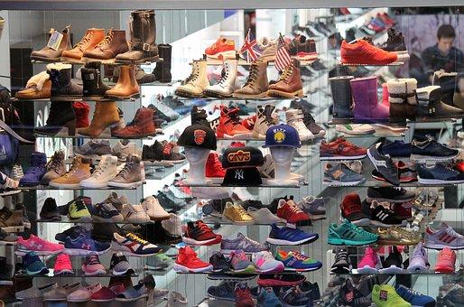 Shoes, Display, Fa, Design, Fashion, Style, Shop