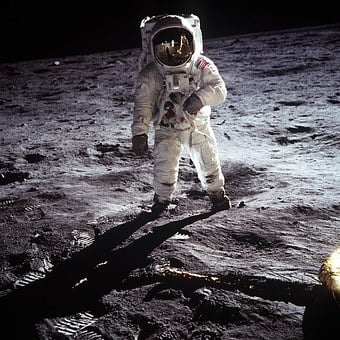 Moon Landing, Apollo 11, Nasa, Buzz Aldrin, 1969
