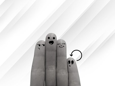 Group, Fingers, Hand, Finger, Smilies, Social, Smile