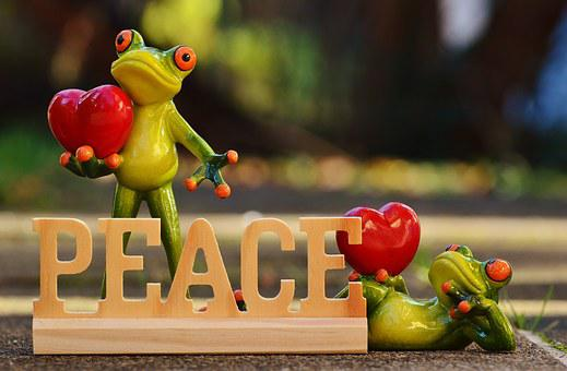 Harmony, Frogs, Social, Humanity, Non-violent, Love