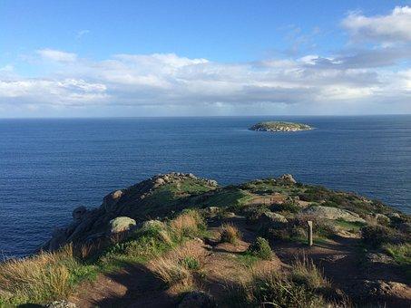 Ocean, Blue, Clear, Adelaide, Australia, Vacation