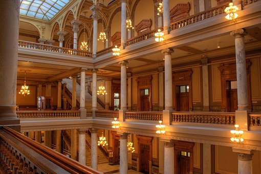 Indianapolis, Indiana, Usa, Capital, Capitol