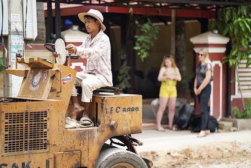 Child Labour, Cambodia, Site, Child, Toys, Children