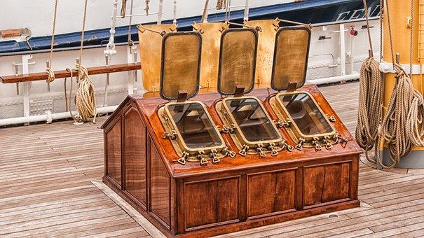 Ship, Window, Deck, Copper, Boat, Boating, Boats, Sail