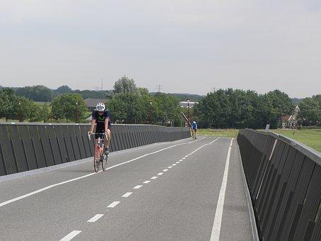 Cyclist, Race Bike, Netherlands