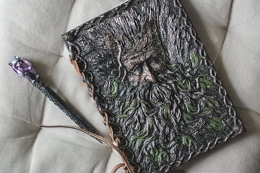 Ent, Gargoyle, Pen, Handbook, Fantastic, Notebook