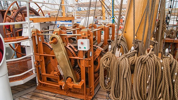 Ropes, Ship, Cable, Tros, Boat, Port, Knot, Fix, Sea
