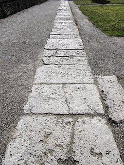 Away, Flagstone Path, Stone Slabs, Basilica