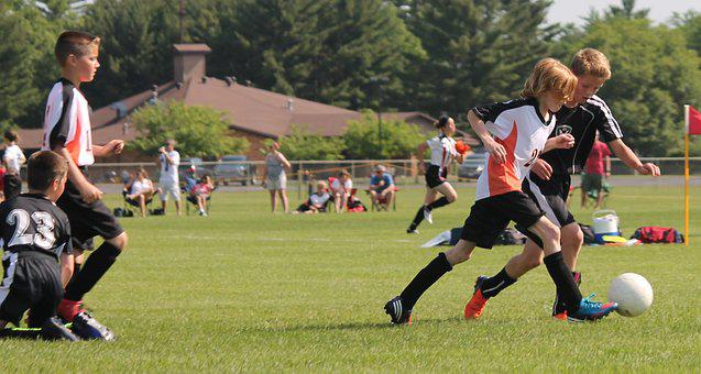 Youth, Soccer, Game, Football, Young, Play, Team, Ball