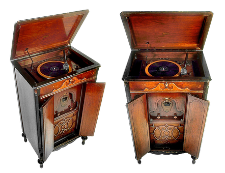 Vintage, The Phonograph, Sound, Hobby, Music, History