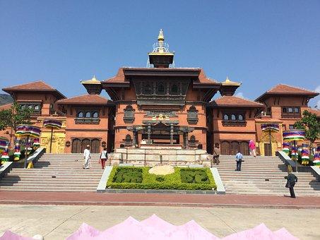Sanya, Nanshan Temple, Building