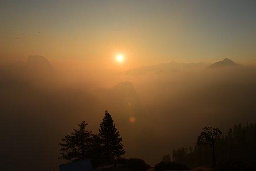 Nepal, Himalaya, Sunset