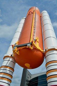Nasa, Shuttle, Tanks, Orbit, Space, Astronaut, Mission