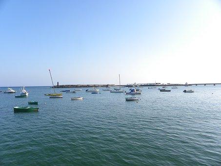 Sea, Boat, Landscape, Port, Ocean, Boats, Clielo