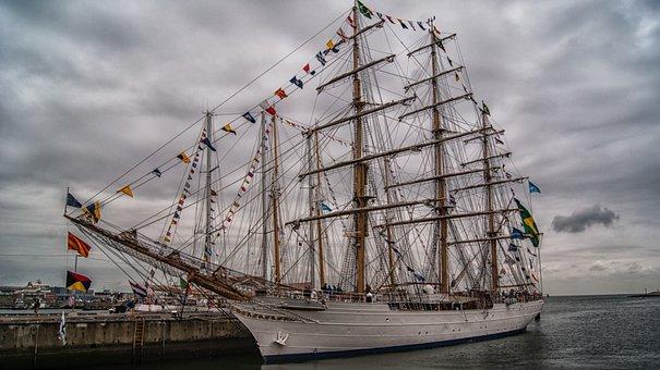 Ship, Sea, Boating, Ships, Water, Boat, Port, Boats