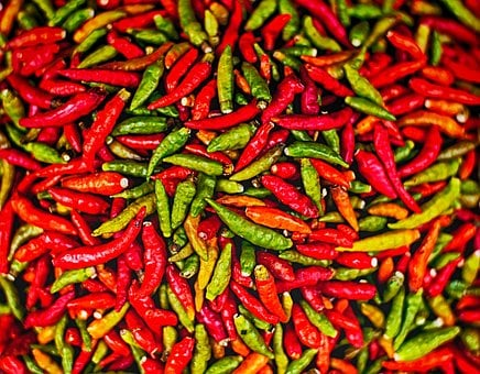 Chilli, Pepper, Spicy, Hot, Red, Spice, Seasoning