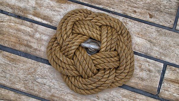 Rope, Deck, Ship, Sailing Boat, Rigging, Sea, Boat