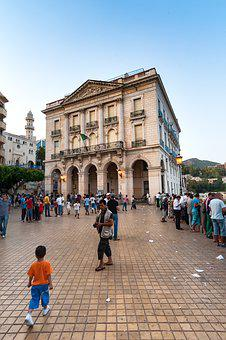City, Theater, Bejaia, Algeria, Architecture, Old Town
