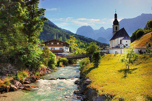 Ramsau, Church, Christen, House Of Worship