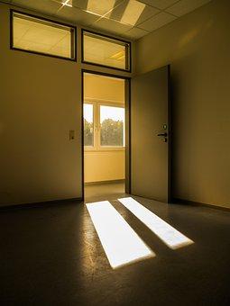 Light, Rays, Seem, Sunbeam, Bill, Sun, Mood, Office