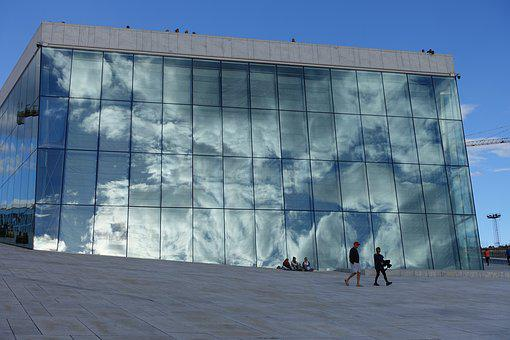 Norway, Oslo Opera House, Oslo, Opera, Architecture