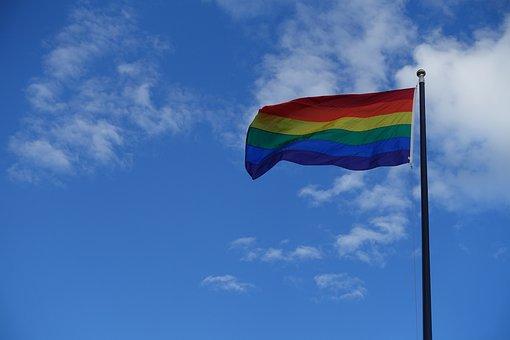Pride, Gay, Flag, Rainbow, Love, Gay Pride, Rights