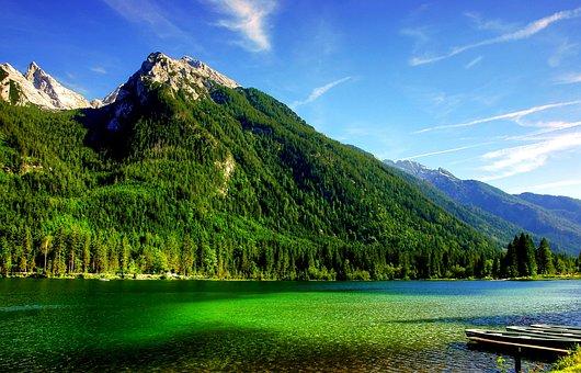 Ramsau, Hintersee, Bavaria, Upper Bavaria