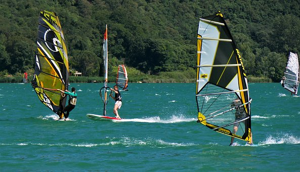 Wind Surfing, Surf, Wind, Surfer, Sport, Water Sports