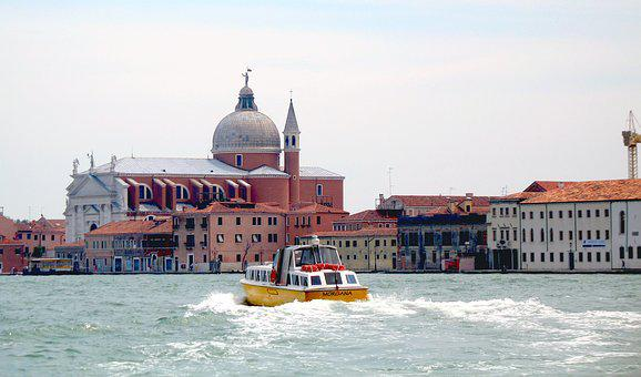 Italy, Travel, Excursion, Buildings, Boat Trip, Leisure