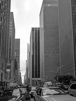 New York, Usa, City, The Streets, Memorial, Wtc