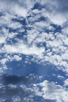 Cloud, Blue, Clouds, White, White Clouds, Summer, Sky