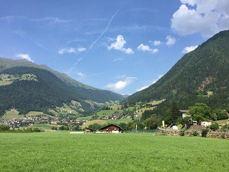 Italy, Mountains, South Tyrol, Dolomites, Alpine