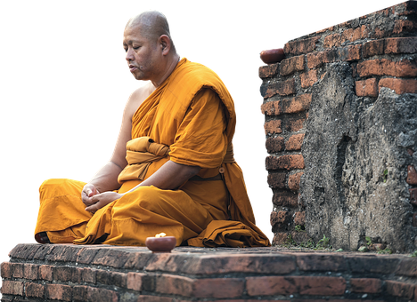 Monk, Faith, Buddhism, Bangkok, Human, Enlightenment