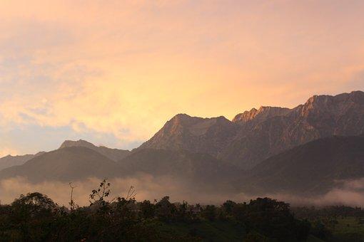 Himalayas, Dhauladhar, Blue, Landscape, Mountain