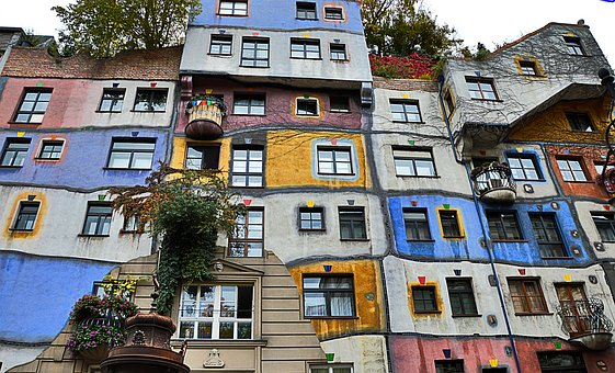 Hundreds Of Water-house-vienna, Colorful, Bowever