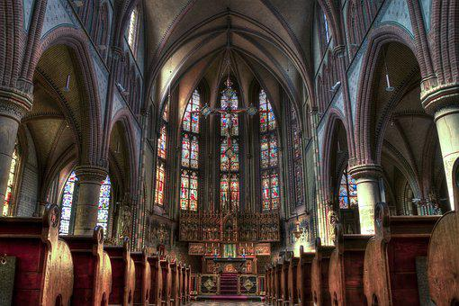 Church, Cathedral, Christian, Gothic, Architecture