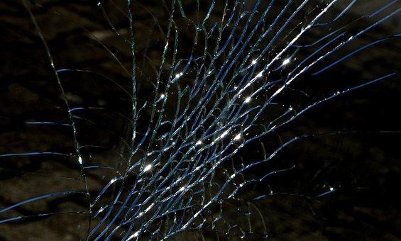 Glass, Splitter, Spring, Shard, Destruction, Broken