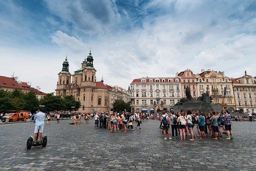 Downtown, Old Town, Prague, Czech Republic In Moravia