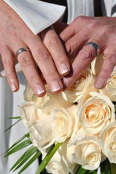 Florida Wedding, Before, Rings
