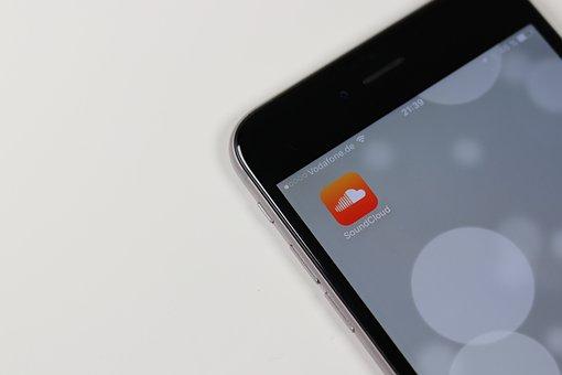 App, Soundcloud, Smartphone, Icon, Communication