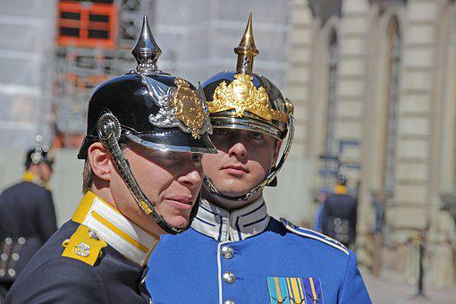 Stockholm, Royal Guard, Portrait