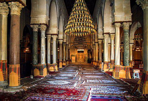 Tunisia, Arab, Islam, Carpet, Hall