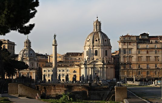 Rome, City, Architecture, Italy, Building, Cities